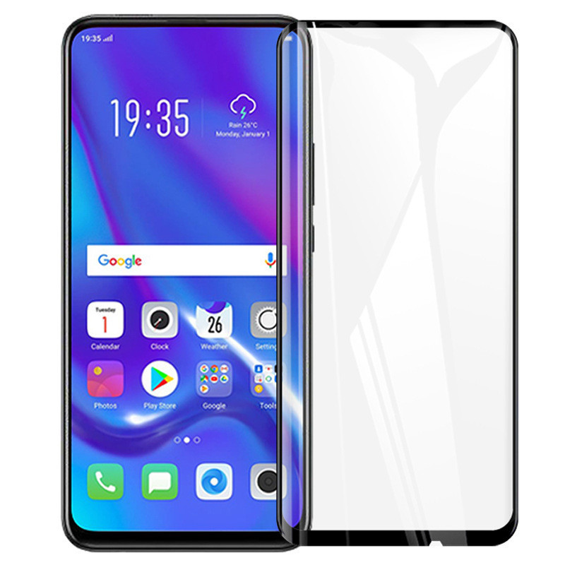 Защитное стекло XD+ (full glue) (тех.пак) для Huawei P Smart Z / 9X / 9X Pro