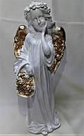Статуя для украшения дома Дева большая, золото, 42 см