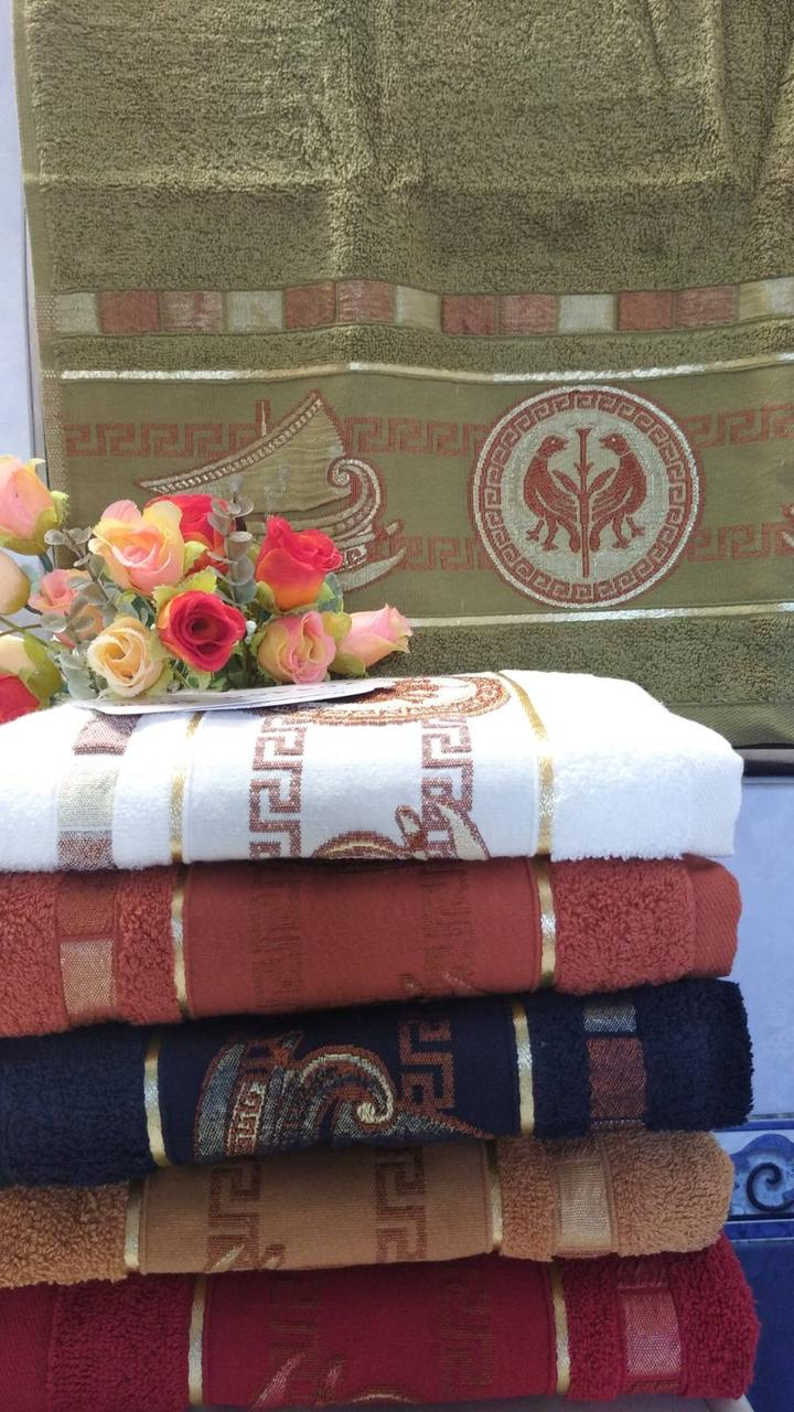 Полотенца Турецкие котон Лицо по 6шт в упаковке.