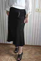 Юбка женская черная на резинке