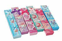 """Подарочные коробочки для бижутерии """"Hearts"""" с бантиками, 21x4см, коробочки для бижутерии, бижутерные"""