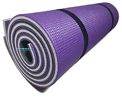 """Каремат для йоги 1800×600×12мм, """"Карпаты Люкс"""" трехслойный"""