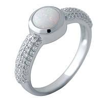 Серебряное кольцо DreamJewelry с опалом (2040774) 17.5 размер, фото 1