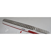 Светодиодная лампа Master 90 Led аккумуляторная WT-186 бело/красная, напольная, лампа напольная, лампа
