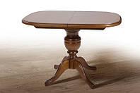 Стол кухонный обеденный раскладной Микс Мебель Триумф (орех рустикаль) (ШхГ - 1050(+400)х750 мм)