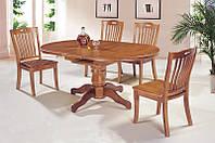 Стол кухонный обеденный раскладной Микс Мебель Сакура (ШхГ - 1200(+300)х900 мм)