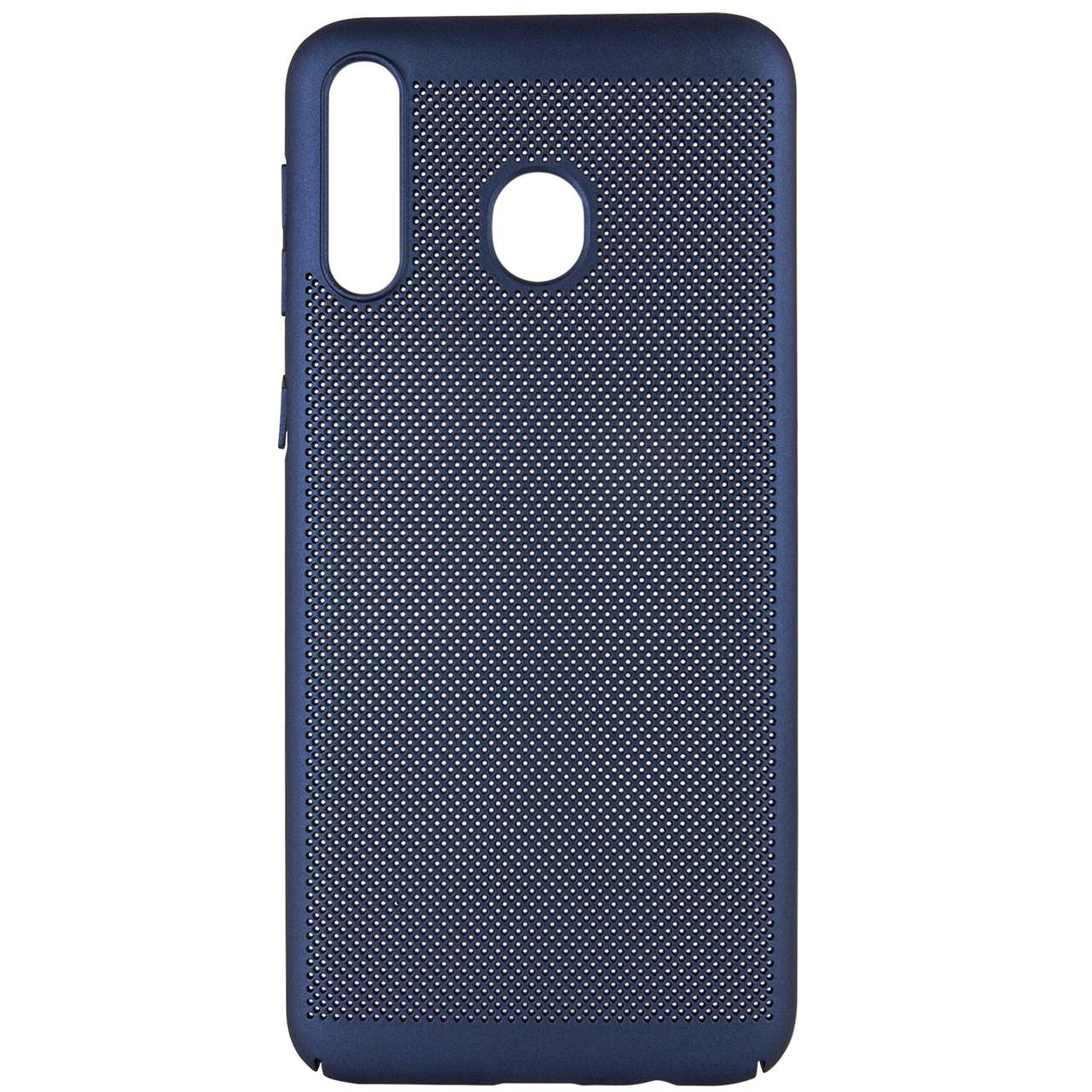 Ультратонкий дышащий чехол Grid case для Samsung Galaxy M30