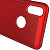 "Ультратонкий дышащий чехол Grid case для iPhone X (5.8"") / XS (5.8""), фото 3"