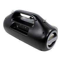 Колонка портативная Lesko YZS-M12 Grey Bluetooth 4.2 мощность 16 Вт TF/AUX/FM, фото 2