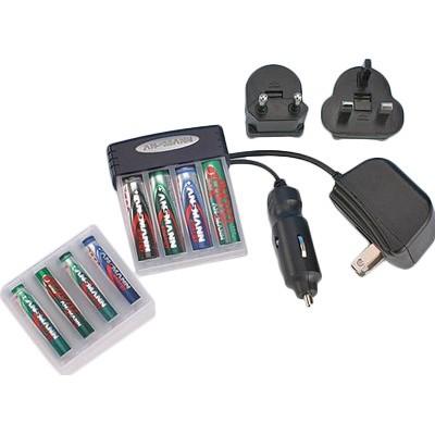 Зарядное устройство Ansmann Pocket Power Charger Set 5C07133