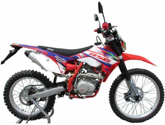 Мотоцикл BSE S2 ENDURO (красно-белый)