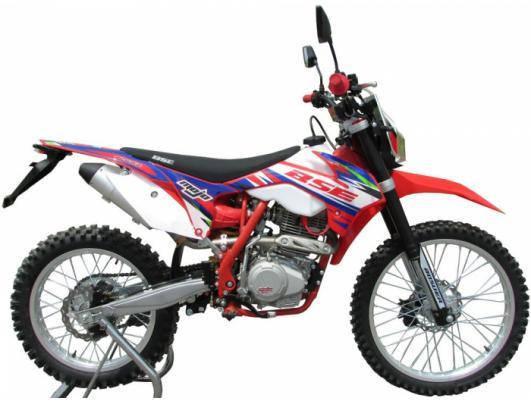 Мотоцикл BSE S2 ENDURO (красно-белый), фото 2