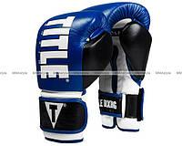 Боксерские перчатки Title Enforcer Heavy Bag Gloves Navy Black