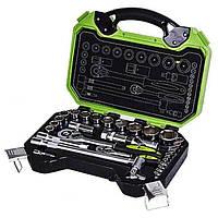 Набор инструментов 33 предмета, 1/2 дюйма, 6 граней, 8-32 мм Alloid НГ-4033П