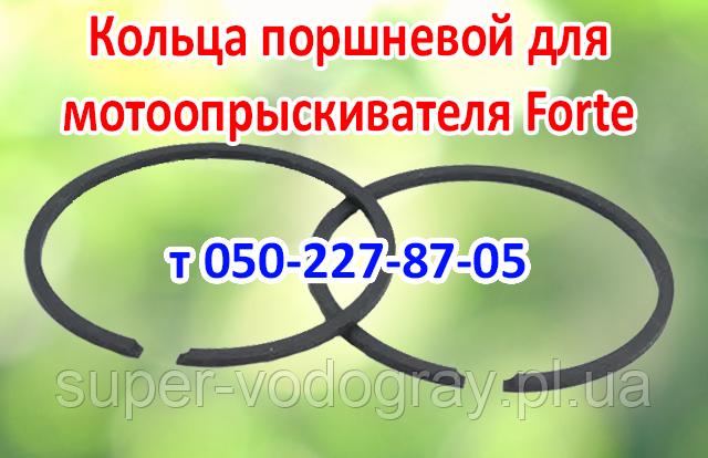 Кольца поршневой для мотоопрыскивателя Forte
