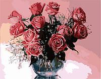 Картина Розовые розы 2