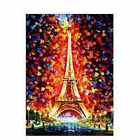 Картина Эйфелева башня в огнях