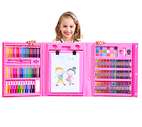 Большой оригинальный художественный набор для детского творчества с мольбертом 208