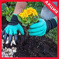 Перчатки с когтями для сада и огорода