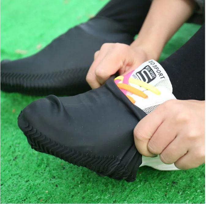 Бахилы силиконовые на обувь от воды и грязи размер S