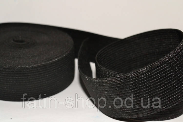 Резинка 3,5см черная