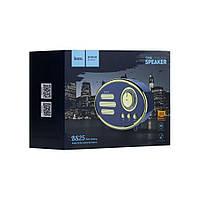 Акустическая Bluetooth колонка Hoco BS25 Time чёрный, USB/AUX/Micro-usb/TF, 1200mah, до 5час, Bluetooth