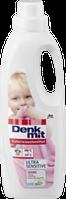 Бесфосфатный гель для стирки детского цветного белья Denkmit Colorwaschmittel Ultra Sensitive  1000 мл