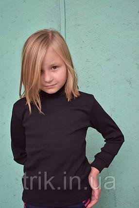 Черная водолазка для девочки, фото 2
