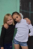 Черная водолазка для девочки, фото 3