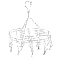Вертушка металлическая с прищепками