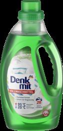 Бесфосфатный гель для стирки белого и цветного белья  Denkmit Vollwaschmittel  1100 мл