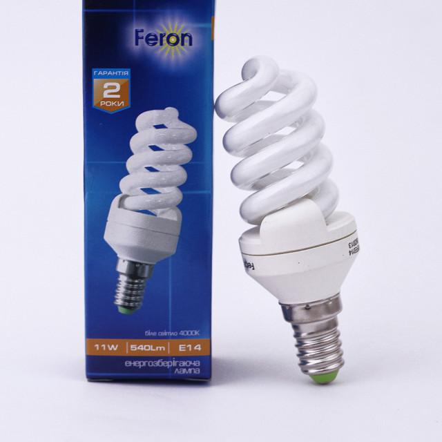 Энергосберегающие лампы Feron с цоколем Е14