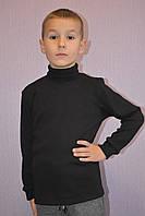 Черная водолазка для мальчика