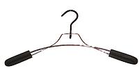 Вешалка хромированная с поролоновыми плечами