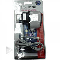Сетевое зарядное устройство для iphone 5/6/7 accessories, 1А, 1м, Зарядное устройство для телефона