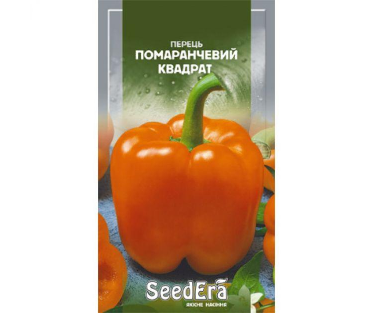 Насіння перець ПОМАРАНЧЕВИЙ КВАДРАТ 0,2 Г SeedEra