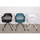 Кресло LAVANDA Лаванда черный пластик от Nicolas, на колесах, фото 2
