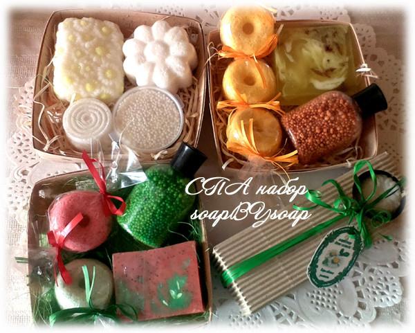 Подарочные наборы - СПА и мыло