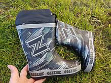 Резиновые сапоги Biki0498 Black-Z 28-35р, фото 2