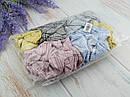 Резинки для волос Ø10.5 см текстиль 20 шт/уп., фото 2