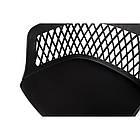 Кресло LAVANDA Лаванда черный пластик от Nicolas, на колесах, фото 5