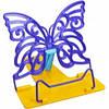 """Підставка для дитячих книг і підручників пластикова, кольори в асортименті. №3 """"Метелик"""" """"Irbis"""""""