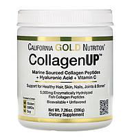 CollagenUP, морской гидролизованный коллаген с гиалуроновой кислотой и витамином С, без запаха, 206 г