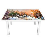 Пейзажі Природа (наклейки на стіл)