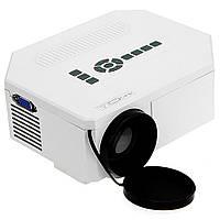 Портативний СВІТЛОДІОДНИЙ проектор PRO-UC30 W8 РК, FullHD/AV/VGA/USB/SD/HDMI, 1920x1080, Проектор