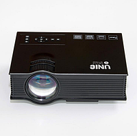 Проектор UC68 BK Мультимедійний Wi-Fi проектор UNIC UC68 BK, домашній кінотеатр 1800 люмен,світлодіодний проектор з HD 1080p