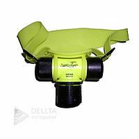 Налобный фонарик подводный Vellozia XW 002 rechargable water proof желтый, фонарик подводный, фонарик налобный