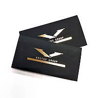 Конверт для карт Plike черный 240 г/м.кв