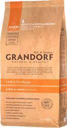 Корм Grandorf для юниоров с ягненком   Grandorf Sensitive Lamb & Rice Junior All Breeds 6 кг