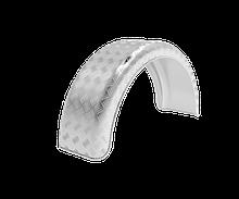 Алюминиевое крыло для легкового прицепа, B=200 мм  Domar   Алюминий  Италия